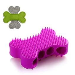 2 in 1 Dog and Cats Grooming Shampoo Shedding Hair Massage S