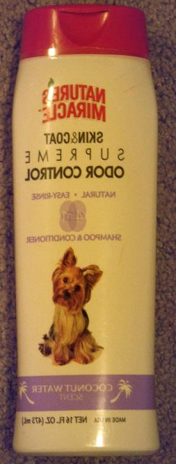 Natures Miracle 4-in-1 Odor & Shed Control Shampoo & Conditi