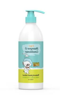2 in 1 dog shampoo and conditioner