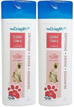 Four Paws 2 Pack of Magic Coat Tangles & Mats Dog Shampoo, 1