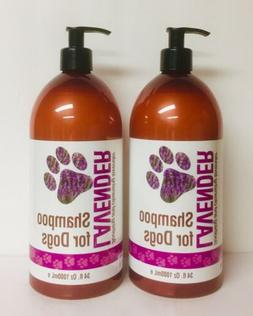 Soothing & Cleansing Lavender Shampoo For Dogs 34 fl oz Eac