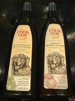 2x Burt's  Bees Care Plus Hydrating Waterless Dog Shampoo