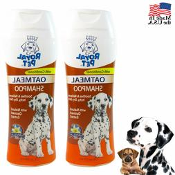 2X Pet Natural Oatmeal Dog Shampoo Odor Eliminator Vanilla D