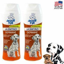 2x pet natural oatmeal dog shampoo odor