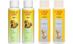 3-Pack Various Burt's Bees Pet Shampoos Conditioners for Dog
