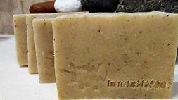 4 bars- Dog shampoo soap Vegan natural flea tick bar Diatoma
