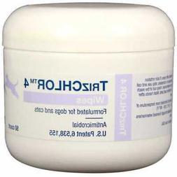 Dechra Pharmaceuticals 49042-4M TrizCHLOR 4 Wipes 50 ct