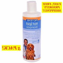 5 PACK! PRO SENSE HOT SPOT HERBAL PET DOG SHAMPOO, 8oz EACH,