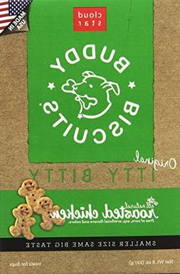 Cloud Star Itty Bitty Buddy Biscuits Dog Treats, Roasted Chi