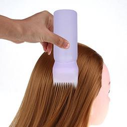 LtrottedJ Hot Hair Dye Bottle ,Applicator Brush Dispensing