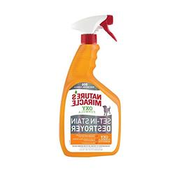 Nature's Miracle Set-In Stain Destroyer Dog 32 Ounces, Oxy