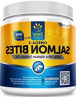 Salmon Fish Oil Omega 3 for Dogs - With Wild Alaskan Salmon