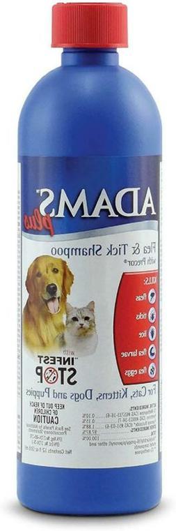 Adams Flea and Tick Shampoo Treatment for Dogs Oatmeal Aloe