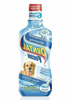 Dental Fresh Advanced Whitening for Dogs Cats Oral Care Wate