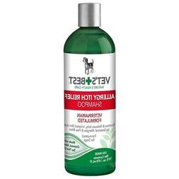 ALLERGY ITCH RELIEF DOG SHAMPOO 16 Oz Pet Seasonal Allergies