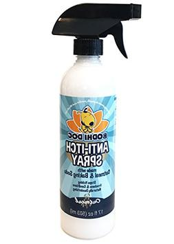 NEW Anti Itch Oatmeal Spray for Dogs and Cats   100% All Nat