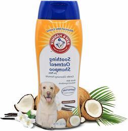 Arm & Hammer Oatmeal  Best Dog Shampoo for Dry Itchy Skin, V