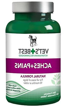 Vet's Best Aspirin Free Aches and Pains Dog Supplements, Nat