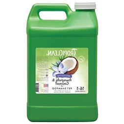 TropiClean Awapuhi & Coconut Shampoo, 2.5 Gallon