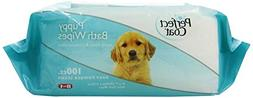 Perfect Coat Bath Wipes for Puppy, 100-Count