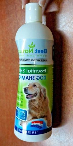 Best Natural Dog Shampoo for Dry Skin and Sensitive Skin