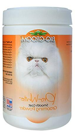 BioGroom Pro White Grooming Powder for Smooth Coat, 6 oz