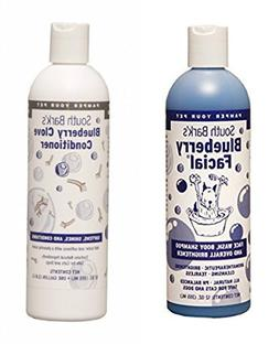 South Bark's Blueberry Facial Shampoo & Blueberry Clove Cond
