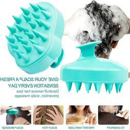 Body Massage Brush Scalp Shampoo Pet Groming Rubber Scrubber
