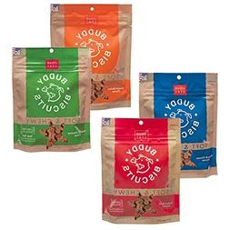 Buddy Biscuits Soft & Chewy Dog Treats Variety Pack - 4 Flav