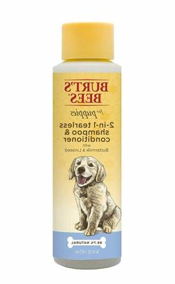 Burt's Bees All Natural 2-in-1 Tearless Puppy Shampoo  Condi