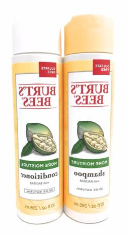 Burt's Bees More Moisture Baobab Shampoo and Conditioner Com