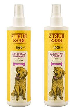Burts Bees Dog Waterless Shampoo Spray Color:Dogs Pack of 2