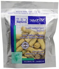 Virbac C.E.T. Enzymatic Oral Hygiene Chews for Cats, Fish Fl