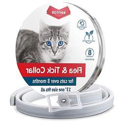 Sentas Cat flea Collar, flea tick Prevention, flea and tick