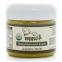 4-Legger Certified Organic Nose and Paw Pad Healing Balm for
