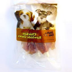 Alpha Dog Series Chicken Rawhide Chews-4oz
