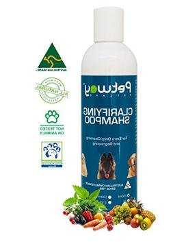 Petway - Dog Shampoo | Pet Clarifying Shampoo for Deep Clean