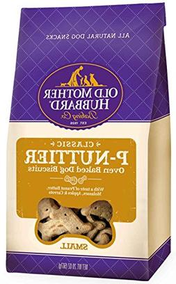 Old Mother Hubbard Classic Crunchy Natural Dog Treats, P-Nut