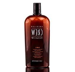 American Crew Classic 3-in-1 Shampoo Plus Conditioner, 33.8