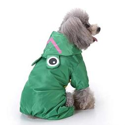 Fitfulvan Clearance!Pet Dog Hooded Raincoat Pet Waterproof P