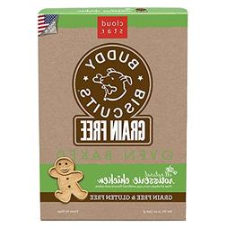 Cloud Star Buddy Biscuits Grain Free Oven Baked Chicken Dog