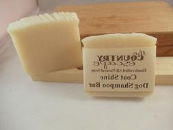 Coat Shine Dog Shampoo Bar - All Natural- Organic - Vegan -