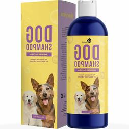 Colloidal Oatmeal Dog Shampoo with Pure Lavender Essential O