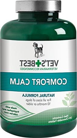 Vet's Best Comfort Calm Calming Dog Supplements, 30 Chewable
