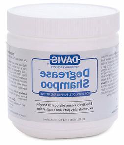 Davis Degrease Cat Dog Pet Shampoo 16 oz. 473ml