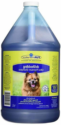 Furminator deShedding Ultra Premium Dog Shampoo, 1-Gallon