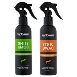 Animology Dirty Dawg No Rinse Dog Shampoo and Stink Bomb Ref