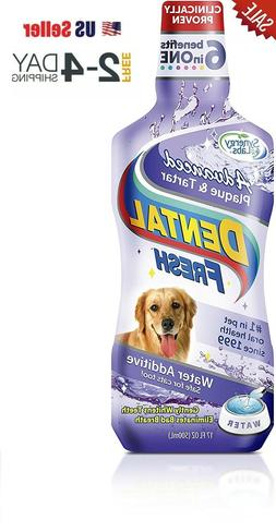 Dog Cat Dental Fresh Breath Pet Mouth Wash Teeth Plaque Tart