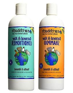 Earthbath Dog Cat Vanilla & Almond Grooming Bundle -  Each: