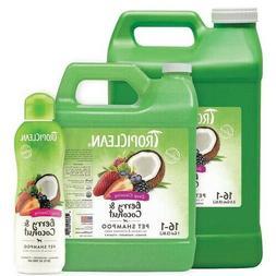 Dog Deep Cleaning Gentle Shampoo Berry Coconut Coat Shine De